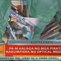 BT: P8-M halaga ng mga pirated DVD nakumpiska ng Optical Media Board