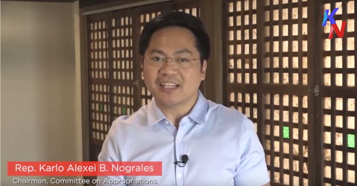 Message of Rep. Karlo Nograles to OMB