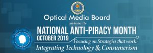 OMB celebrates the National Anti-Piracy Month