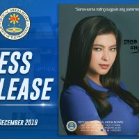 Angel Locsin as Anti-Piracy Ambassador