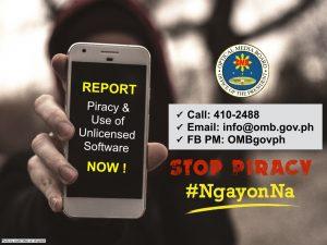 Stop Piracy Ngayon Na!